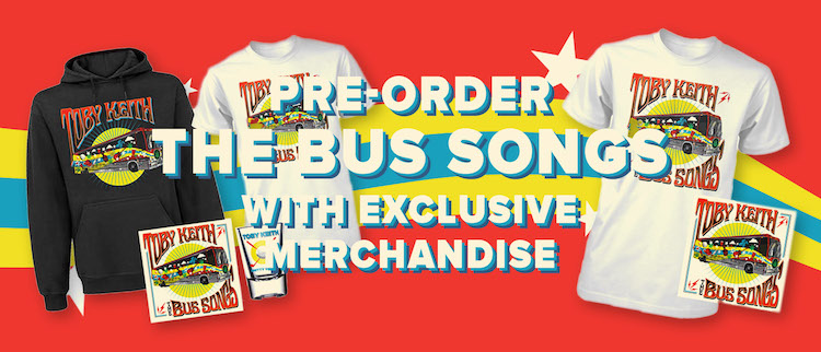Pre-Order The Bus Songs